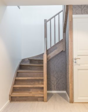 Oak stairs. Norway. Project no. 62
