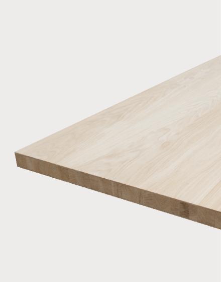 Solid engineered, type MI oak worktops