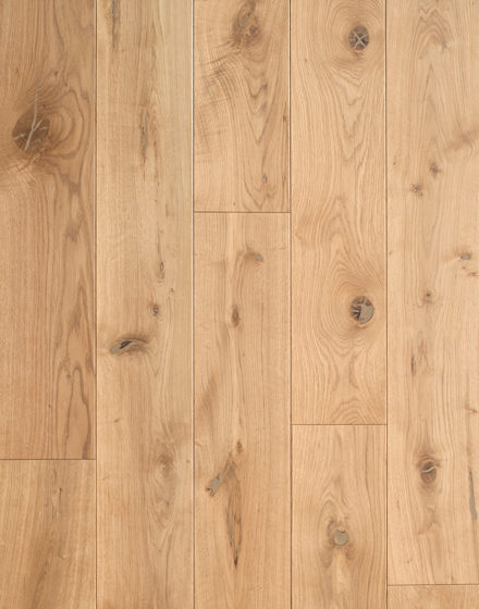 Rustic grade oak floorboards