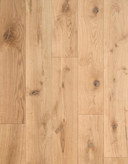 Rustic grade oak floorboards