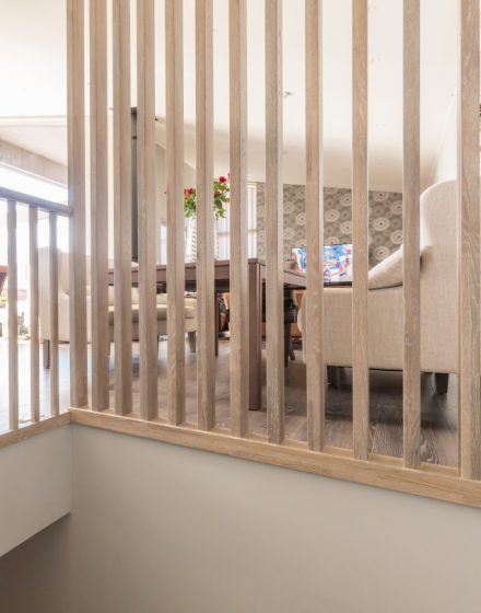 Oak stairs. Norway. Project no. 61