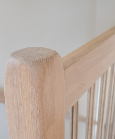 Oak stairs in Norway. Project no. 70