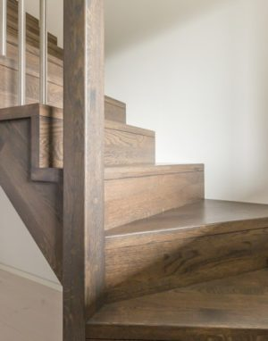 Oak stairs in Norway. Project no. 73
