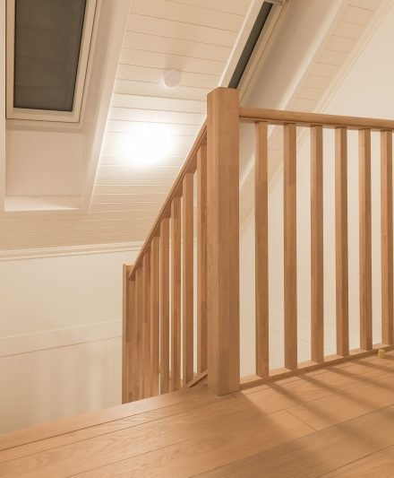 Oak stairs. Norway. Project no. 41