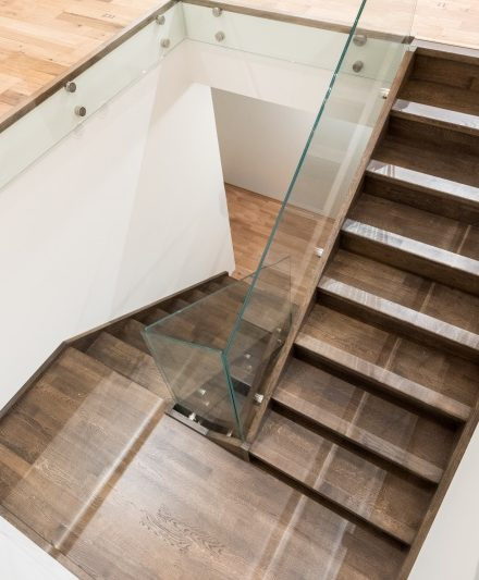 Oak stairs. Norway. Project no. 44