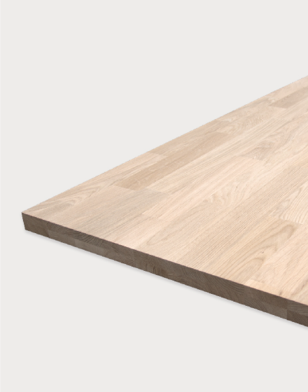 Finger-jointed, type DA7 Oak worktops